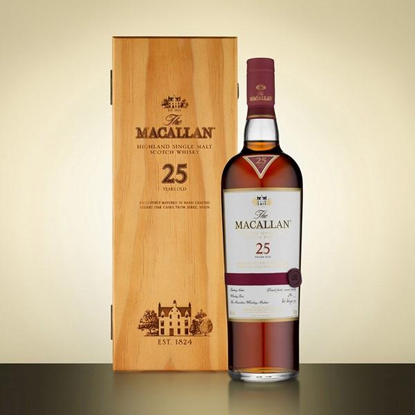 Rượu Macallan 25 sherry