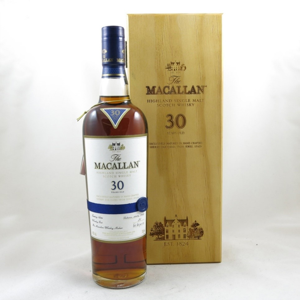 Rượu Macallan 30 Serry